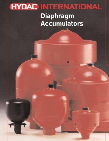 Diaphragm Accumulators - Airline Hydraulics