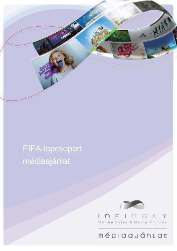 FIFA-lapcsoport médiaajánlat - Infinety