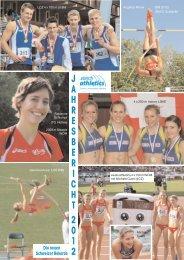 J A H R E S B E R I C H T 2 0 1 2 Die neuen ... - zürich-athletics