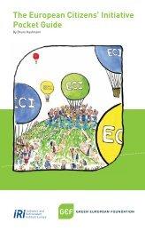 The European Citizens' Initiative Pocket Guide