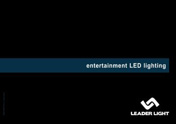 entertainment LED lighting - EES