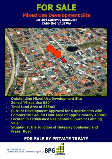 Flyer Draft - Gateway Blvd - Private Treaty - Realestate.com.au