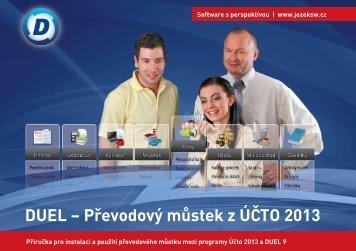 DUEL – Převodový můstek z Účto 2013 - Ježek software
