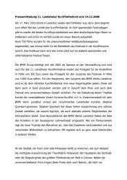 Pressemitteilung 11. Landshuter Kurzfilmfestival vom 14.12.2009 ...