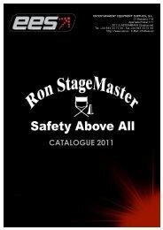 Catálogo Ron StageMaster 6000 y 7000 - EES