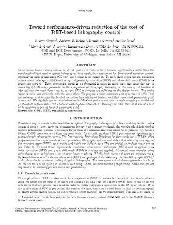 PDF - UCSD VLSI CAD Laboratory