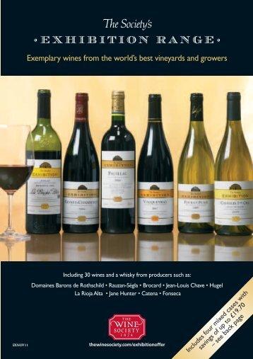 Exhibition RANGE - The Wine Society