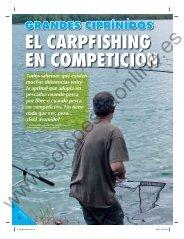 EL CARPFISHING EN COMPETICIÓN - Solopescaonline.es
