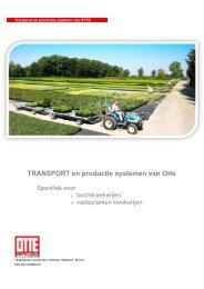 TRANSPORT en productie systemen van Otte - Otte-beton.de