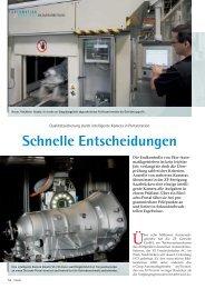 Schnelle Entscheidungen - Siemens