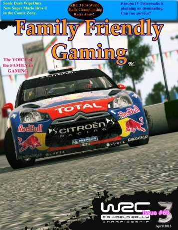 Issue #69 - Family Friendly Gaming