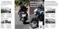 Flyer Termine 2010 Motorrad