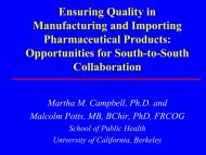 Ensuring Quality in Manufacturing and Importing Pharmaceutical ...