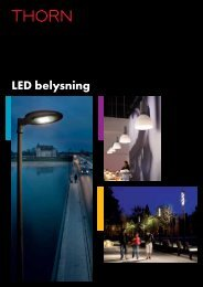 Download LED Lighting Brochure [PDF/4MB] - Thorn