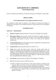 Annex to Prakas #599_Regulation on the Implementation of PSI ...