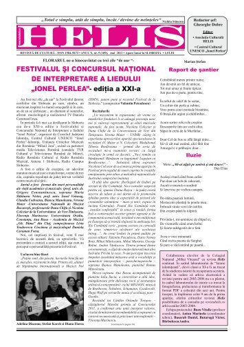 HELIS 109 - Revista HELIS