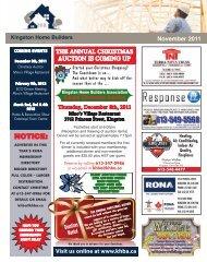 Issue 3 November 2011 - Kingston Home Builders