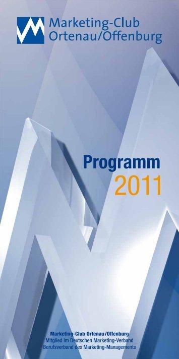 Programm - Marketing-Club Ortenau/Offenburg