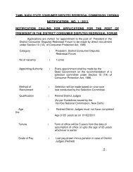 NOTIFICATION NO. 1 / 2011 ..2.. - Civil Supplies and Consumer ...