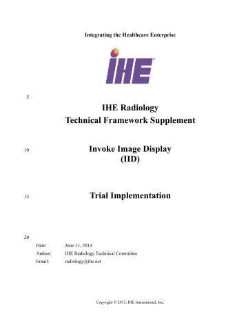 IID - IHE
