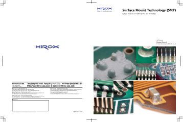 Surface Mount Technology (SMT) - Hirox-USA