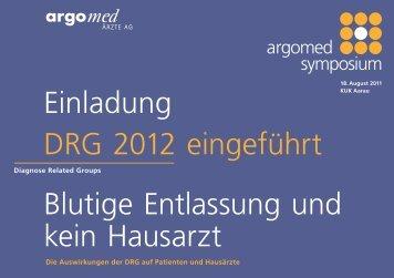 Programm Symposium - Argomed