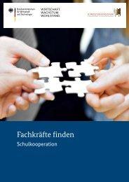 Schulkooperation - Kompetenzzentrum Fachkräftesicherung