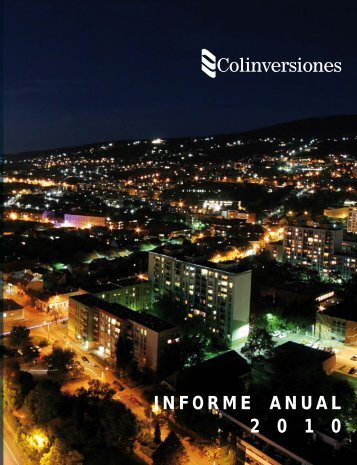 Informe Anual 2010 - Sitio para inversionistas Celsia