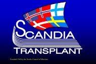 Diasshow for Scandiatransplant year 2012