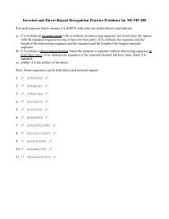 Repeated Sequence Recognition Problems (PDF)