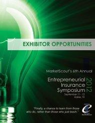 EXHIBITOR OPPORTUNITIES - Entrepreneurial Insurance Symposium