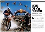 n four days of full throttle