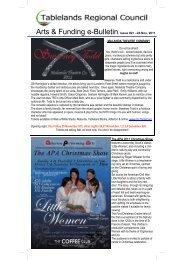 Issue # 21 - November 2011 - Tablelands Regional Council
