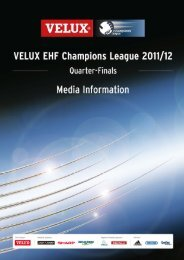 Team Profile - FC Barcelona Intersport (ESP) - European Handball ...