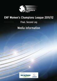 Györi AUDI ETO KC - European Handball Federation