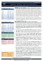 07/08/2013 Informe diario de mercados de Saxo Bank
