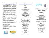 Prêmio Inventor UFBA 2012 - 4ª Edição - ACTA 11