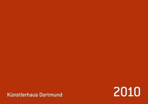 Jahresheft Künstlerhaus Dortmund 2010