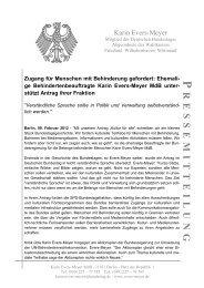 Pressemitteilung vom 09.02.2012: