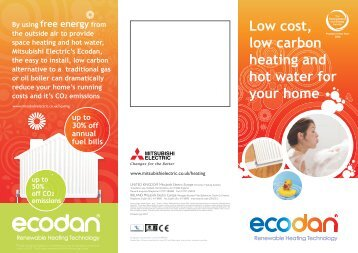 Ecodan homeowners leaflet.pdf - RM Barnett renewable energy ...