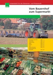 Vom Bauernhof zum Supermarkt  - information.medien.agrar eV