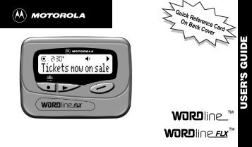 WORDline FLX - American Messaging