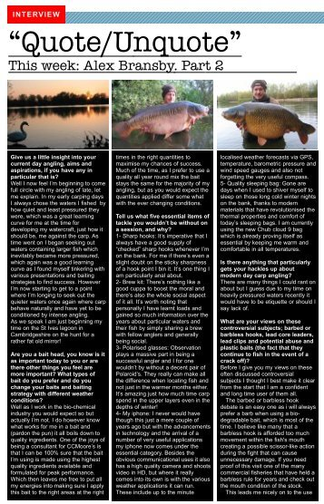 Alex Bransby January 2011 Part 2.pdf - Chub Fishing