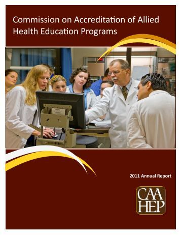 CAAHEP Annual Report 2010-2011