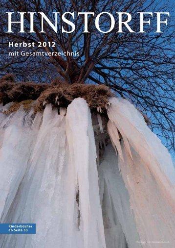 Herbst 2012 mit Gesamtverzeichnis - Hinstorff Verlag