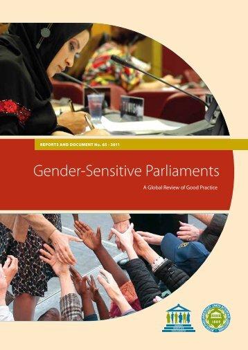 Gender-Sensitive Parliaments - Inter-Parliamentary Union