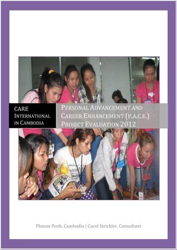 (pace) Project Evaluation 2012 - CARE International's Electronic ...