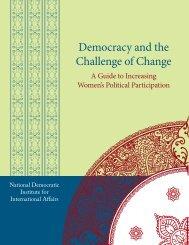 Democracy and the Challenge of Change - National Democratic ...