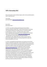 FIAP:n biennaaleja 2012 - Suomen Kameraseurojen Liitto ry