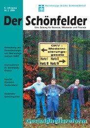 6. Jahrgang Nr. 2 2004 - Barmherzige Brüder Schönfelderhof